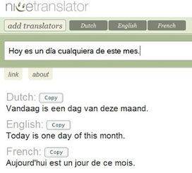 En la nube TIC: Traducir texto en varios idiomas online, de forma simultánea. | Las TIC y la Educación | Scoop.it