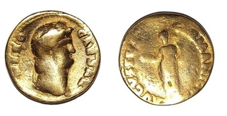 Gold Coin Unearthed at Vindolanda - Archaeology Magazine | Ancient History and Archaeology | Scoop.it