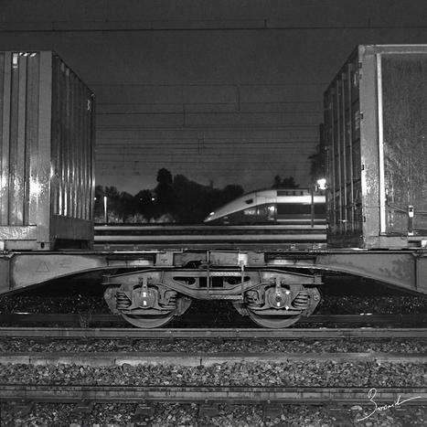 Photographier les trains au Rolleiflex   L'actualité de l'argentique   Scoop.it