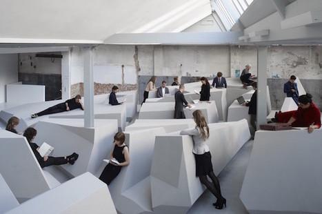 Un open space expérimental où on ne travaille plus assis | the web: design, E-skills & news | Scoop.it