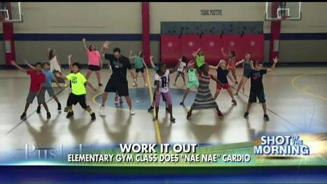 Watch This Gym Teacher's Awesome 'Whip/Nae Nae' Workout Routine | Educational technology , Erate, Broadband and Connectivity | Scoop.it
