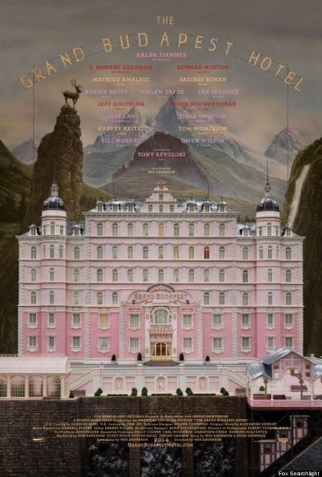 Wes Anderson's New Font Is ... | Type, Typography, Letterforms, Fonts | Scoop.it