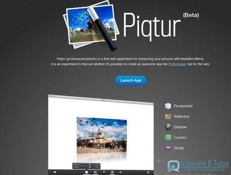 Piqtur : un nouvel outil web pour éditer ses photos en ligne | Ressources informatique et classe | Scoop.it
