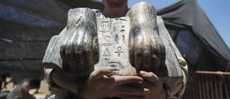 Un sphinx égyptien étrangement découvert en Israël | Aux origines | Scoop.it