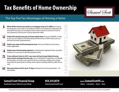 Tax Benefits of Homeownership   Home Prices   Scoop.it