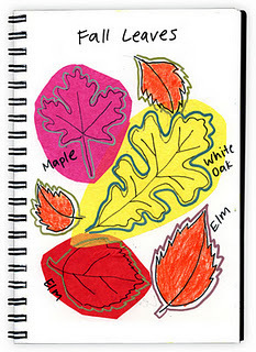 Art Projects for Kids: Art Journaling 136, Tissue Paper Fall Leaves | Projects for kids | Scoop.it