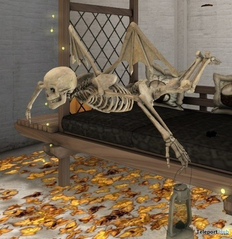 Flying Skeleton Lost & Found Event Gift by M.LAW Designs | Teleport Hub - Second Life Freebies | Second Life Freebies | Scoop.it