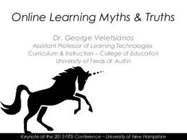 Online Learning Myths & Truths | E-Learning, Fo... | Tech Tools and Training for Teachers | Scoop.it