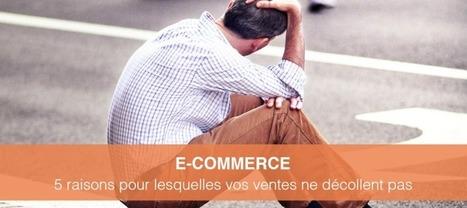 E-Commerce: 5 raisons pour lesquelles vos ventes ne décollent pas! | Communication WEB - Réseaux Sociaux - Veille - Content Marketing - SEO | Scoop.it