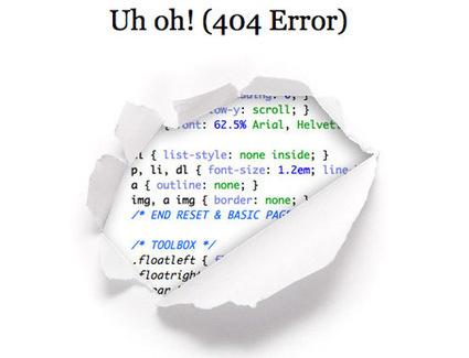 Le best-of des pages 404 de nos sites préférés - En mode #Digital   Petites trouvailles drôles ou utiles   Scoop.it