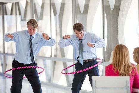 Do hula hoops and convince with wittedness … have fun at work | The Key To Successful Leadership | Scoop.it