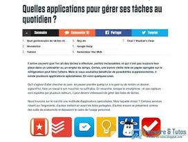 Le site du jour : Comparatif d'applications de gestion de tâches | web2Partner | Scoop.it
