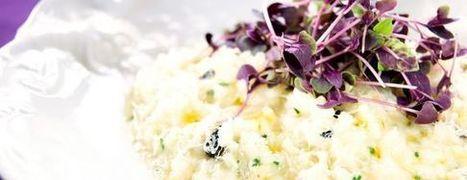 Black Garlic, Leek, Lemon and Parmesan Risotto - Black Garlic UK | Black Garlic UK | Scoop.it