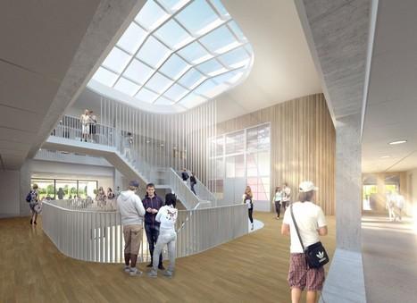 Netherlands - Corridor-free high school bathes students in natural light   L'usager dans la construction durable   Scoop.it