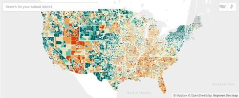 Map: How Per-Pupil Spending Compares Across U.S. School Districts | MSU's 21st Century Education Enterprise | Scoop.it
