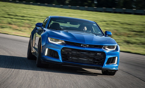2017 Chevrolet Camaro ZL1 - First Ride   The Automotive View   Scoop.it
