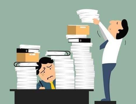 Surcharge de travail : le tabou commence à tomber, Efficacité - Productivité personnelle - Les Echos Business   La Gestion du Temps   Scoop.it