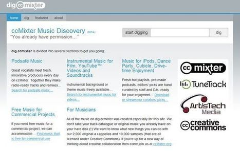 DigCCmixter, miles de audios con música libre para usar en tus proyectos | Docentes y TIC (Teachers and ICT) | Scoop.it