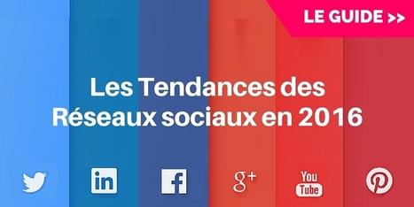 ▶ Les 9 Réseaux Sociaux qui Comptent en 2016 | Digital Social Club | Scoop.it