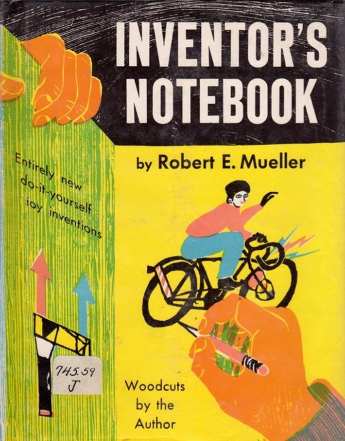 Inventor's Notebook - illustrated by Robert E. Mueller | Nerdy Needs | Scoop.it