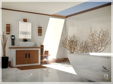 "Inspirational Bathrooms | Alexanian Carpet & Flooring - ""The World at Your Feet"" www.alexanian.com 