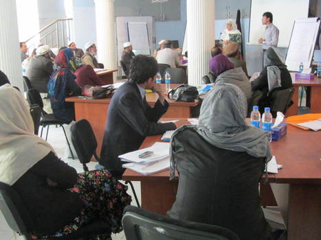 A new peace education course for teacher education in Afghanistan | U.S. - Afghanistan Partnership | Scoop.it