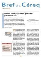 Pour un accompagnement global des parcours de VAE I N. Beaupère, G. Podevin I Bref du Céreq n°302   Entretiens Professionnels   Scoop.it