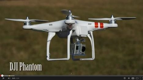 DJI Phantom Quadcopter - GoPro - Ready to Fly Kit | Camera News | Scoop.it