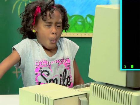 Kids React To Old Computers. And It's Brilliant. | Light Bulb Shining | Scoop.it