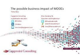 The business impact of MOOCs | Connectivism in ... | CMOOC | Scoop.it