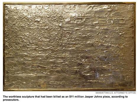 Counterfeit Jasper Johns Bronze Flag leads to FBI arrest   Jasper Johns   Scoop.it
