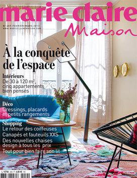 Papier peint : les tendances 2013 - Marie Claire Maison | GP Décors | Scoop.it