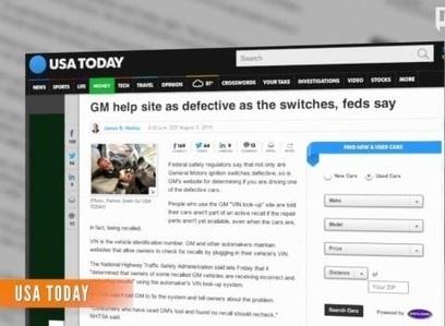GM's faulty website not identifying faulty vehicles - Atlanta Journal Constitution | Internet Marketing | Scoop.it
