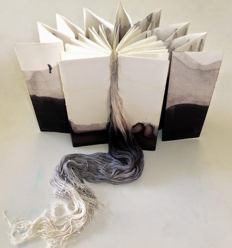 Bookmarking Book Art - Noela Mills | Book Promotion & Publicity | Scoop.it