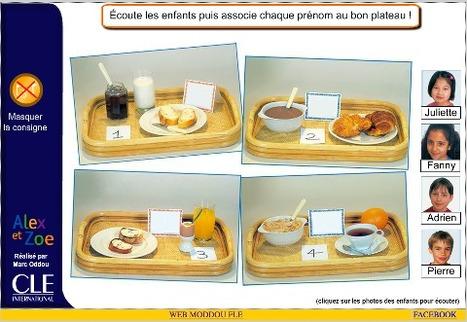 Ressource TBI-TNI : le petit déjeuner | FLE et nouvelles technologies | Scoop.it