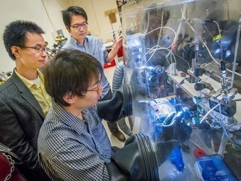 Nanoscale artificial leaf can extract hydrogen from water with just sunlight | Sustainable Futures | Scoop.it