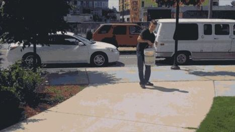 These Sidewalk Games Only Appear When It Rains | News we like | Scoop.it