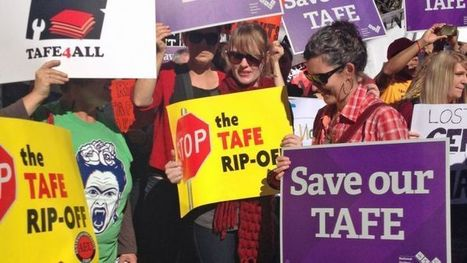 Anger over leak of confidential TAFE document - ABC Online | TAFE in Victoria | Scoop.it