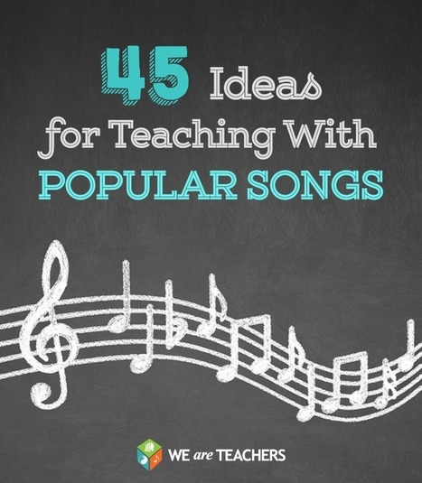 WeAreTeachers: Teachers Share Their Favorite Educational Songs … Did Yours Make the List? | Differentiated Instruction | Scoop.it