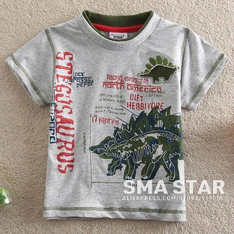 Dinosaur Print Baby Boy Cool Summer Clothes | Clothing at SMA-STAR | Scoop.it