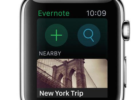 Apple Watch : les premières applications pour les pros | Digital News in France | Scoop.it