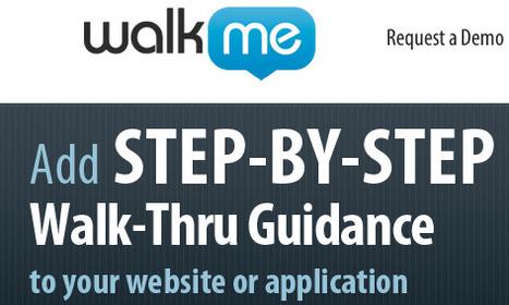 5 applications pour créer des visites guidées de votre site (walkthrough) | Actu - ergonomie et parcours  web | Scoop.it