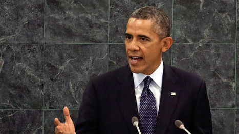 President Obama Addresses the UN: Watch Live | AUSTERITY & OPPRESSION SUPPORTERS  VS THE PROGRESSION Of The REST OF US | Scoop.it