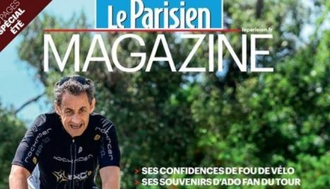 """Sarkozy en vélo en une du """"Parisien"""" : le message est clair. Mais Photoshop le trahit   L'Obs   CLEMI. Infodoc.Presse  : veille sur l'actualité des médias. Centre de documentation du CLEMI   Scoop.it"""