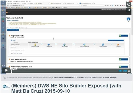 Video Newsletter: Sell Blueprints First Webinar (9-15-2015) - | Advanced SEO, Website Silo Architecture and Content Curation | Scoop.it