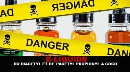 E-LIQUIDE : Du diacetyl et de l'acetyl propionyl à gogo ! | La Vape dans tous ses états. | Scoop.it