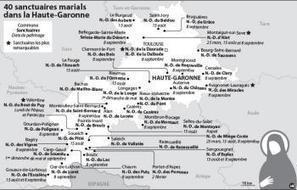 40 lieux de pèlerinage qui remontent au Moyen âge | L'Histoire avec Histoire Multimédi@ Production. | Scoop.it