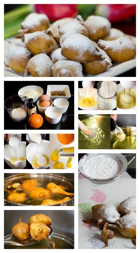 "Italian Carnival Doughnuts: ""Frittelle con uvetta"" | Le Marche and Food | Scoop.it"