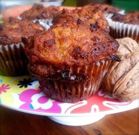 Val's Kitchen: Healing through Food - Carrot Cake Muffins | Healthy Living - Recipes, exercise and more... | Scoop.it
