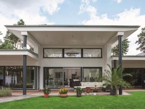 Une maison basse consommation XXL pour toute la famille | Conseil construction de maison | Scoop.it